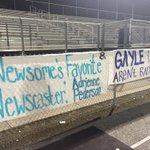 I LOVE Newsome High School. Check out this sign! @WFLARod @WFLAGayleG http://t.co/iz1AvnjoJV