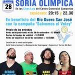El 28 de noviembre vuelve @SoriaOlimpica. En @Camaretas con @sorianodepro, @susoseca, @nanolopezcomedy y @CrisSerrato http://t.co/eRlt14ejSj
