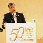 RT @Presidencia_Ec: Finaliza #ConferenciaMagistral de @MashiRafael en ##CátedraPrebisch #Ginebra #GiraPresidencial http://t.co/LucyU6GEdU