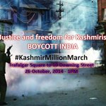 UK tells India #KashmirMillionMarch cannot be banned as thousands prepare 2 protest in #London http://t.co/cyi7viD5G2 http://t.co/xYJRSqA6ew