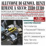 Il dramma non è #Renzi #Pd : il dramma è che cè chi crede che Renzi stia facendo qualcosa di buono. #alluvionegenova http://t.co/jbUVN2C1za