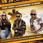 Hoy #viernes con concierto de de #dembow y #reggaeton en @clubVIP86 http://t.co/EXgBImlxt4