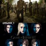 """""""@RTorFAV_1: REQUESTED  RT for The Walking Dead  FAV for Game of Thrones http://t.co/o6E8GNZvSA"""" le rapport nvm"""