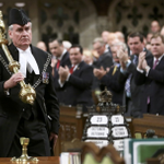 RT @WSJ: The Sergeant-at-Arms is applauded in the Canadian House of Commons. Photos of the day: http://t.co/jmDXdlCoUw http://t.co/iW1L2kz1N6