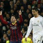 RT @futmais: Messi x Cristiano Ronaldo: 25 jogos 12 vitórias de Messi (17 gols) 7 empates 6 vitórias de CR7 (13 gols) https://t.co/lLZr5lWA6W