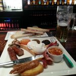 The breakfast of champions @sohobarcork All ready for @CorkCityFC v @dundalkfc #GreenFriday http://t.co/z2nyNNnAb1