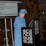 Something one doesnt see everyday... The Queen sends her first tweet to open #smInfoAge #TheQueenTweets http://t.co/yOeK6Jlnxx