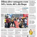 "Mas esse ibope safadinho RT ""@Estadao Dilma abre vantagem e tem 54%; Aécio, 46%, diz Ibope http://t.co/SrK6arxPaZ http://t.co/nqA7kZMo2b"""