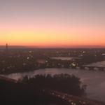 Bright orange glow on the horizon. #TGIF Sunrise not until 7:27am! @ABC7News @NewsChannel8 http://t.co/qBdqg2N4q0