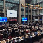 Press conferences at #EUCO this afternoon expected to be dominated by budget top-up issue. What a mess http://t.co/XkLGpYgcel