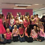 We are proud to #wearitpink in support of @BCCampaign today! http://t.co/BM6RtN07vN