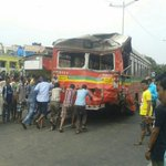 RT @dna: Three BEST buses collide on Western Express Highway in #Mumbai http://t.co/EwtHLQTu1Q by @tweetateeq http://t.co/qemLWUoved