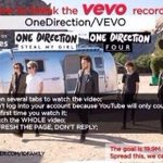 RT @adorxblezaynie: HOW TO BREAK THE VEVO RECORD FOR SMG: RT AND SPREAD THIS #EMABiggestFans1D #StealMyGirlVEVORecord http://t.co/4jXxO95c2S