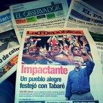 Esta es la portada de @larepublica_uy que según el Ministro de la Corte Electoral, Alberto Brause viola la veda http://t.co/A1r2p2mnox