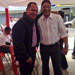 Con el Viceministro Ricardo Aquino, inauguración de @OTBolivar otro logro de @rangelgomez #10AñosBienHechos http://t.co/MJDm2NFx8z
