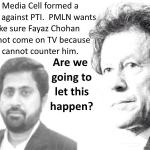 #PTI stands with @Fayazchohanpti ! The #PMLN slayer! http://t.co/hJ6Py9ffmQ