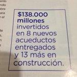 RT @JCGossain: Transparencia en la inversión.resultados visibles. http://t.co/6ohQnfaHul