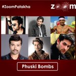 Who according to you is the Phuski Bomb of Bollywood? Share your views with #ZoomPatakha in your tweets