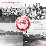 Happy birthday to @Sheffieldfc,the worlds first #football club founded in 1857! #happybirthdayfootball #olympiacos http://t.co/nKWsdm67kF