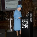 Wonderful to welcome HM The Queen, who opened our #smInfoAge gallery with her first tweet http://t.co/uNoFphFro6 http://t.co/81lE9PYQQX