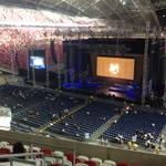 RT @ST_LifeTweets: The first look at the rejigged stadium for #MariahCarey http://t.co/fgOIWh7bND