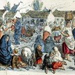 The Claddagh, Galway (John Leech, 1878) http://t.co/8YbqFYrs3A