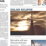 Good Friday morning! Front page of todays @SBTribune: http://t.co/ck1ddbMVIA