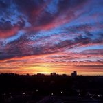 Good morning its Friday! We captured this spectacular image of the sunrise over Tallahassee from @floridastate! http://t.co/NzMAf7g99J