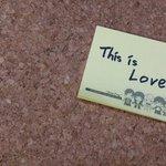 THIS IS LOVE  너무 좋은것같아요... 너무 주관적인건가 ㅋㅋ..ㅠㅠ http://t.co/YBWy5PlMgb