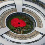 RT @PoppyLegion: Check out the giant human poppy formed of 1400 staff from GCHQ for the start of the #PoppyAppeal! #EPIC http://t.co/je525qgw4u