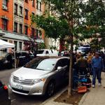 Tons of media outside apt of #NYC doctor with #Ebola. Neighbor says her concern is for dr - not herself. @CBSNewYork http://t.co/puscYtcjwE