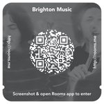 We started a Brighton Music chat room in Rooms, the new app by Facebook. Save this image and download the app to join http://t.co/9JGe5sGGgl