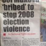 So this Zanu guy is accused of taking bribes to stop beating people. Serious crime in Zanu circles >>> http://t.co/HcVnQobiK5