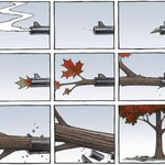 RT @mrmattvaughan: Stunning. Beautiful. @cbcasithappens Editorial cartoonist Bruce MacKinnon @CH_Cartoon does it again. https://t.co/ykJYUs6GXM #CanadaStrong