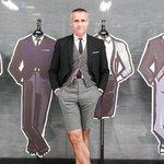 RT @fashionsnap: トム・ブラウンが青山店1周年で来日「世界中に出店していきたい」http://t.co/puDkoiNgkq http://t.co/9FenbNxaub