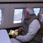PM Modi surveying HNY affected areas http://t.co/BuGWbVrsKd