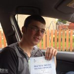 Congrats Nathan Brown who has passed his test today in Ayr #ayrshire first time Assisted by http://t.co/nGX2cwKGlZ http://t.co/N7pZrfV4VG