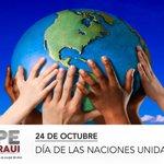 RT @pepechedraui: #SabiasQue hoy se conmemora el día de las Naciones Unidas. http://t.co/2jjBuBIub8
