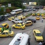 RATAS. RT @TReporta: Taxistas cierran vía principal en Arraiján http://t.co/gLTERus1Xu #Panamá http://t.co/OfwpEL0JD2