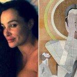 ICYMI: Irish WR takes bed selfie w/ porn star Lisa Ann: http://t.co/vftlwxboYO Look away Touchdown Jesus, look away!! http://t.co/DhbB32Mcy6