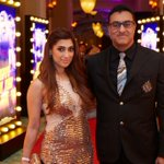 RT @MandviSharma: Lucky & @MoraniMohomed at the Red Carpet of the World Premiere of @HNY #DiwaliWithHappyNewYear http://t.co/RRNRpMC4KG