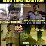 RT @Imdenesh: #KATHTHIRewritesHistory RIP BrainLess Haters.. U Guys Cant even Touch His Feet http://t.co/axJpXapWzn