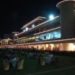 The cci club lawns and club house! Beautifully lit up for #Diwali !#plush http://t.co/77dnP4bhPG