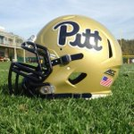 RT @PG_JerryMicco: Here is a photo of the helmets #Pitt will wear vs. #GaTech on Saturday: http://t.co/9MofWCxoD5