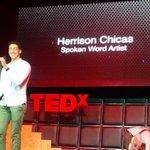 """""""Spartans still exist"""" Herrison Chicas #TEDxCLT http://t.co/xE9clXWb9D"""