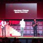 Harrisson Chicas integrating music performed by 2 CLT artists into his spoken word! #beoutsidethebox @TEDxCharlotte http://t.co/YAWj0TidRK