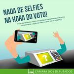 RT @CamaraNoticias: TSE proíbe selfie nas urnas e prevê prisão e multa para infratores http://t.co/viYScKSyXN http://t.co/k8UYKk5jxx