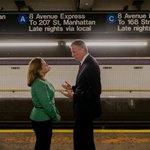 RT @willalatriste: .@MMViverito & Mayor @BilldeBlasio take A train back to Manhattan after Ebola Briefing & Press Conference in Brooklyn http://t.co/HhN63XT9y5