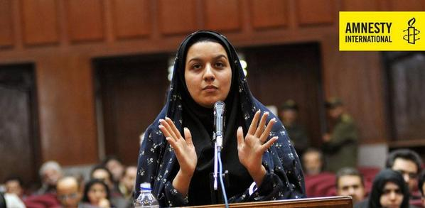 URGENT: Authorities in #Iran confirmed Reyhaneh Jabbari is set to be executed at dawn. Act now http://t.co/27tJoYZyvd http://t.co/qNP5wca1lG