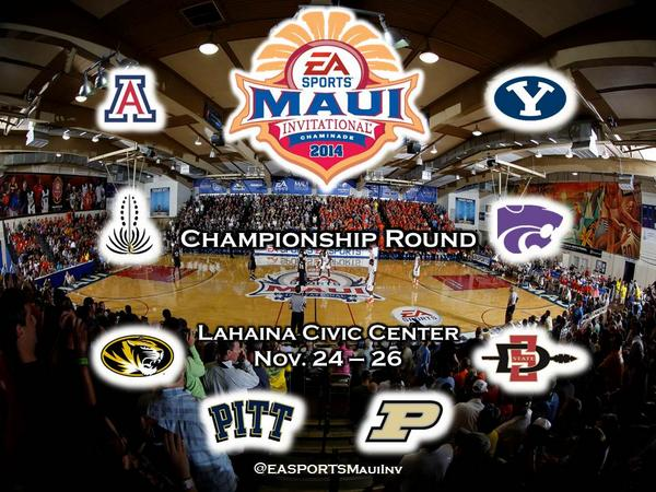 30 days. One month. 1/12 of a year. The countdown to the #MauiHoops Championship Round continues. http://t.co/WMCk8P0rT7